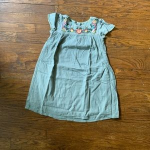 Baby Gap | pull on embroidery cotton dress kids 5